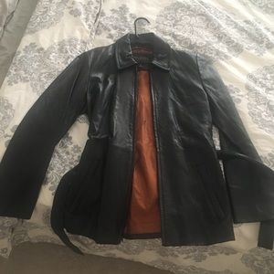 Wilsons leather jacket size small